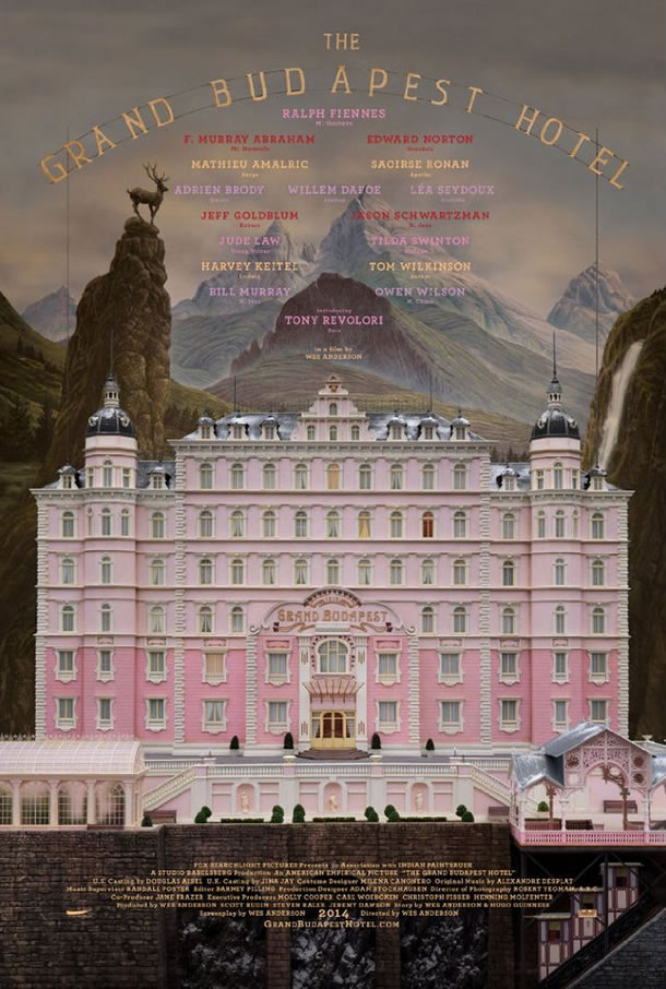 The Grand Budapest Hotel (2014) – Το πιο ονειρεμένο ξενοδοχείο μας ανοίγει την πόρτα του