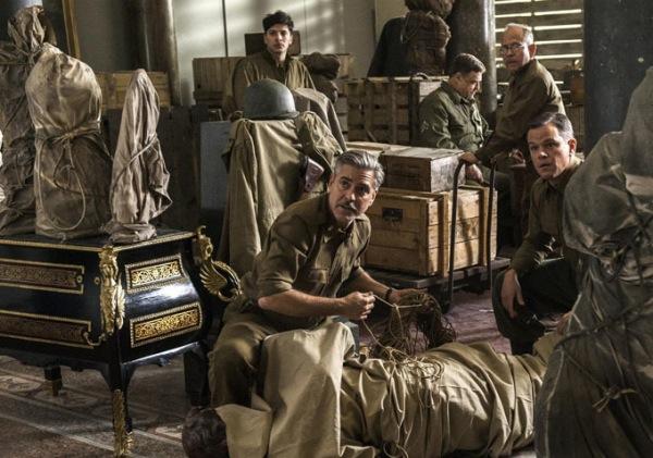 The Monuments Men (2013) – Τζορτζ Κλούνεϊ και Ματ Ντέιμον σώζουν έργα τέχνης από τους Ναζί