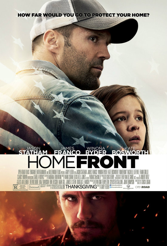 Homefront (2013) – O Τζέιμς Φράνκο τα βάζει με τον Τζέισον Στέιθαμ