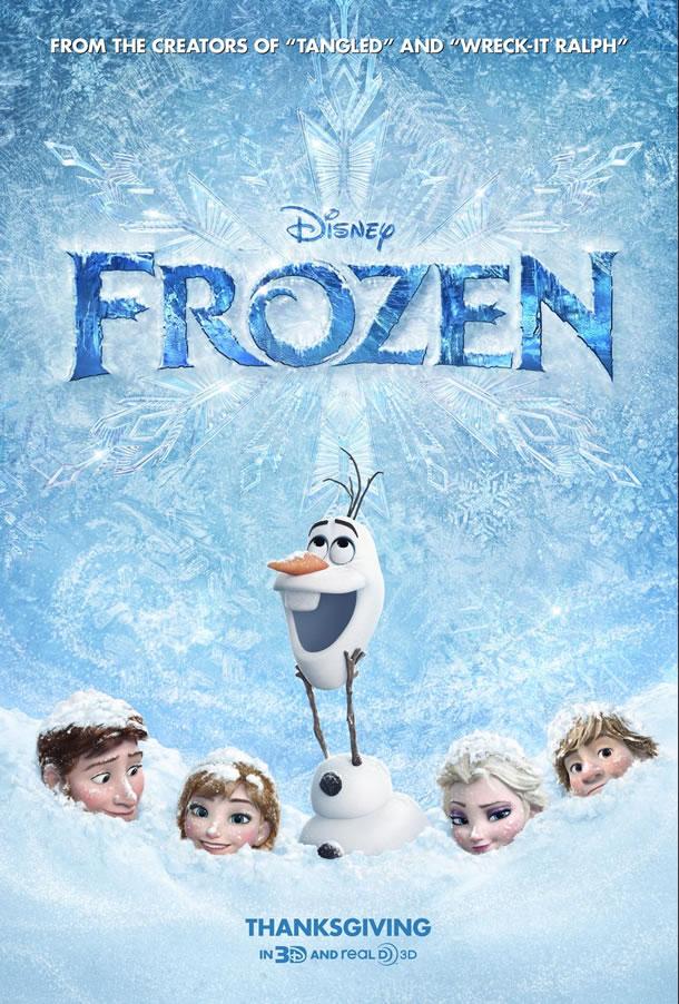Frozen (2013) – Νέο trailer και poster