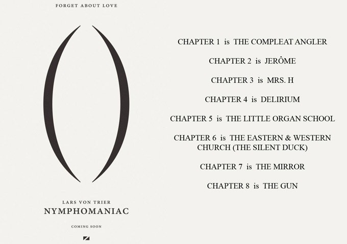 Nymphomaniac (2013) – Το τέταρτο 'ορεκτικό' trailer