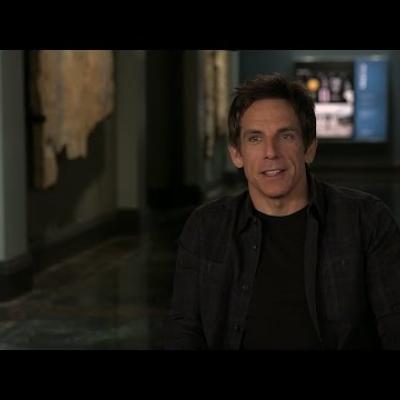 O Ben Stiller μιλάει για το Night At The Museum: Secret Of The Tomb!