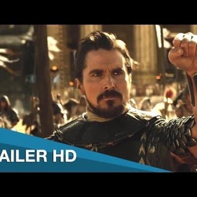 Κατέφθασε το πρώτο trailer του «Exodus: Gods And Kings» με τον Christian Bale Μωυσή