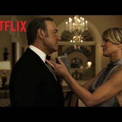Ο Kevin Spacey ετοιμάζεται για τη τρίτη σεζόν του «House of Cards»