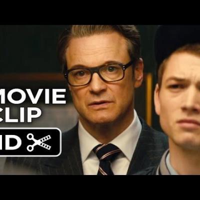 Νέο απόσπασμα για το Kingsman: The Secret Service!