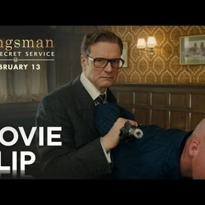 Ο Colin Firth καβγαδίζει σε μπαρ στο «Kingsman: The Secret Service»