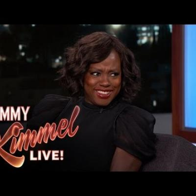 H Viola Davis για την ομιλία της στα βραβεία Emmy