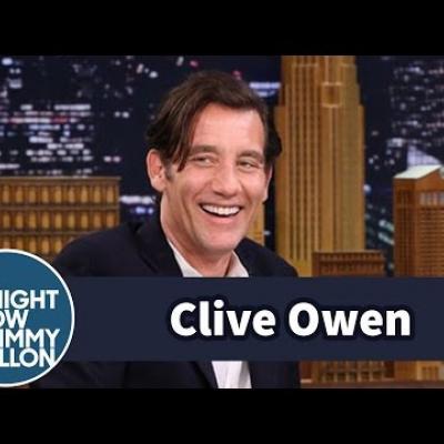 O Clive Owen δείχνει την αστεία πλευρά του στον Jimmy Fallon