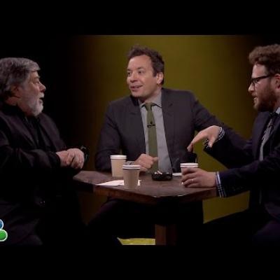 Seth Rogen & Steve Wozniac εξομολογούνται live