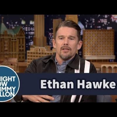 O Ethan Hawke για τα παιδιά του