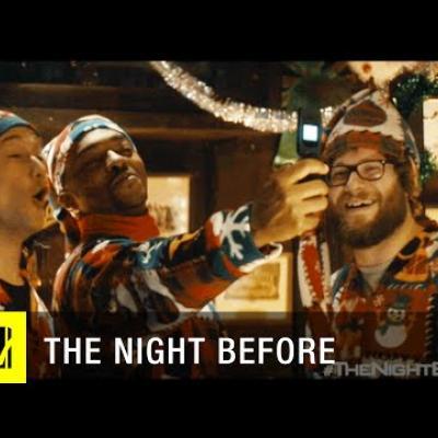 Τα πρώτα λεπτά του ξέφρενου «The Night Before»