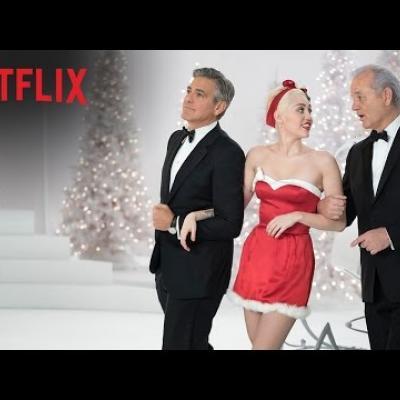 George Clooney και Miley Cyrus στο «A Very Murray Christmas» της Sofia Coppola