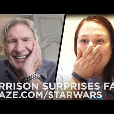 Ο Harrison Ford έκανε έκπληξη σε fans του Star Wars για πολύ καλό σκοπό