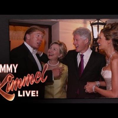 Κι όμως η Hilary Clinton είχε πάει στο γάμο του Donald Trump
