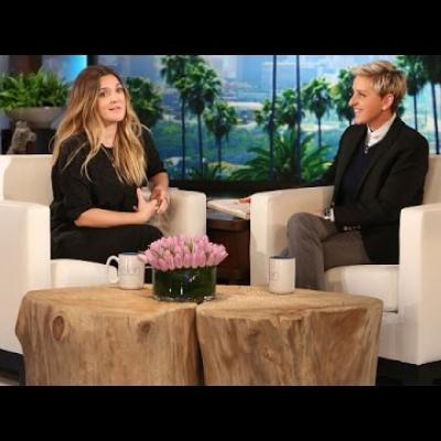 H Drew Barrymore για τη τρελή ζωή της