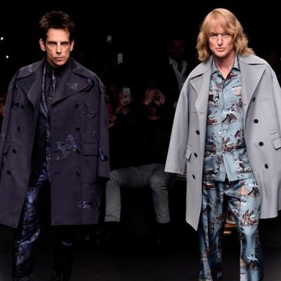Ανακοινώνεται το «Zoolander 2» ενώ οι πρωταγωνιστές περνούν απ' τη πασαρέλα του Valentino