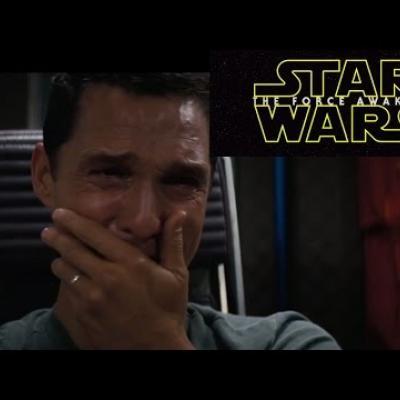 Ο Matthew McConaughey αντιδρά στο νέο trailer του «Star Wars»