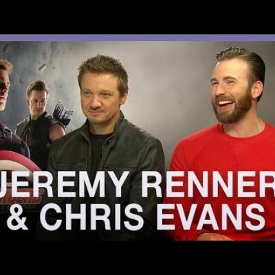Σεξιστικό σχόλιο ή ένα απλό αστείο; Ο Chris Evans και ο Jeremy Renner μιλούν για τη Black Widow.