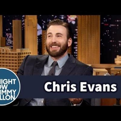 O Chris Evans κάνει τις ίδιες γκριμάτσες με τον ανηψιό του!