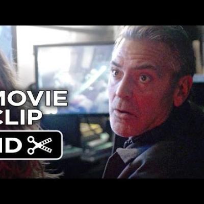 Επίθεση δέχεται ο George Clooney στο νέο απόσπασμα του «Tomorrowland»