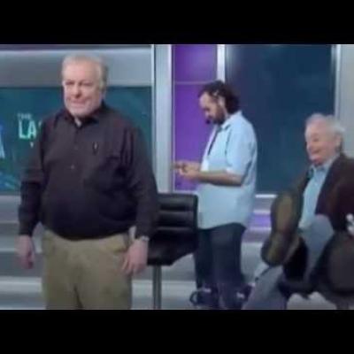 Η τούμπα του Μπιλ Μάρεϊ στο πλατό εκπομπής!