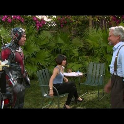To cast του Ant - Man μιλάει για τη ταινία