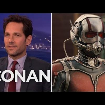 Ο Paul Rudd κοροϊδεύει για πολλοστή φορά τον Conan O'Brien με clip του «Ant-Man»