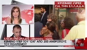 Κλέων Γρηγοριάδης κατά Μαρίας Σαράφογλου - Επεισόδιο στον αέρα του Mega!