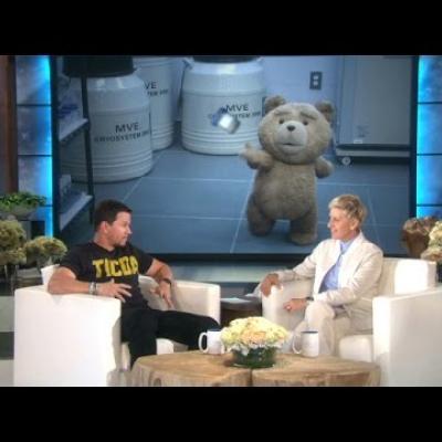 O Mark Wahlberg μιλάει για το Ted 2