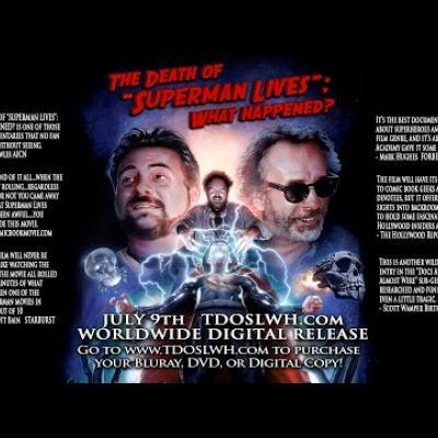Τα πρώτα λεπτά για τον Superman του Tim Burton που δεν είδαμε ποτέ