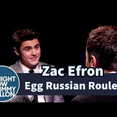 Zac Efron & Jimmy Fallon παίζουν αυγορουλέτα!