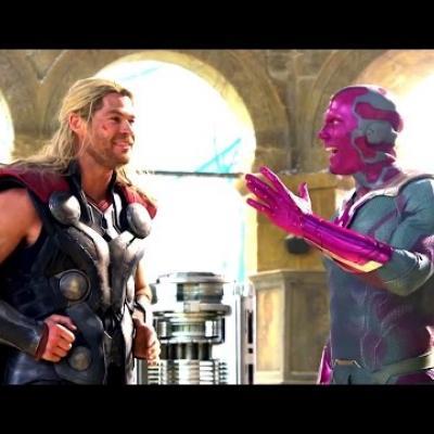 Ο Paul Bettany μεταμορφώνεται στον Vision του «Avengers: Age of Ultron»