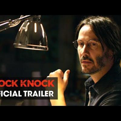 Προβλήματα χτυπάνε τη πόρτα του Keanu Reeves στο νέο trailer του «Knock Knock»