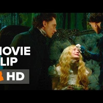 Η Jessica Chastain παρηγορεί τη Mia Wasikowska στο νέο απόσπασμα του «Crimson Peak»