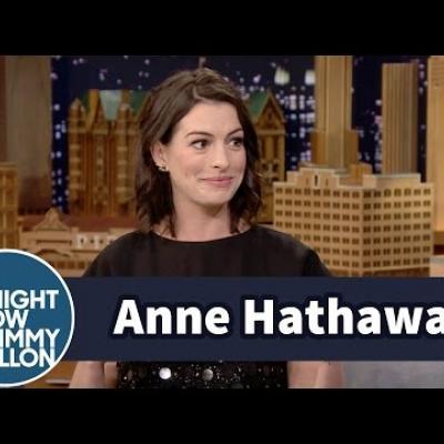H Anne Hathaway μιλάει για το νέο της εθισμό
