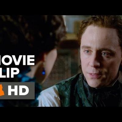 Ο Tom Hiddleston και η Jessica Chastain συζητούν σε ένα clip του «Crimson Peak»