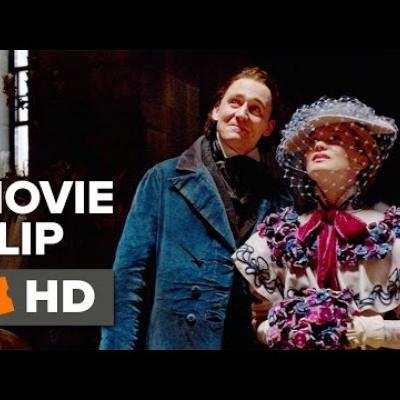 Ο Tom Hiddleston και η Mia Wasikowska σε άλλο ένα clip του «Crimson Peak»