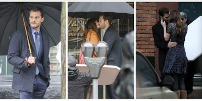Στα γυρίσματα του «Fifty Shades Darker»: Τα καυτά φιλιά του Mr.Grey και της Αναστέζια