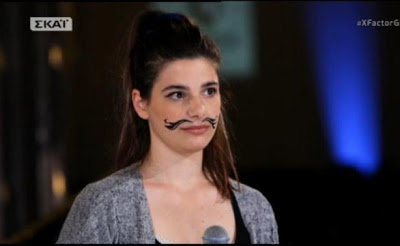 X Factor - Bootcamp: Μεγάλος προβληματισμός για την παίκτρια με το μουστάκι!