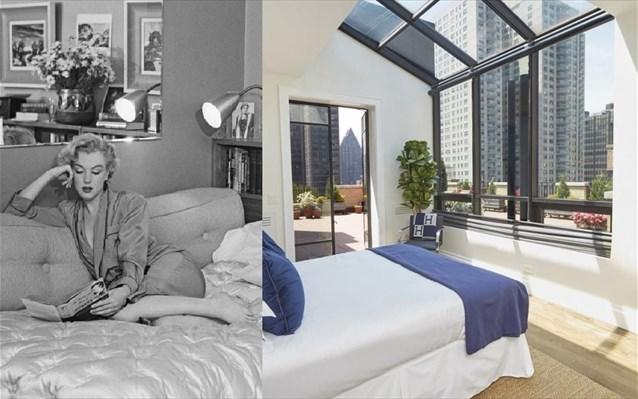 «Πωλητήριο» στο διαμέρισμα της Marilyn Monroe