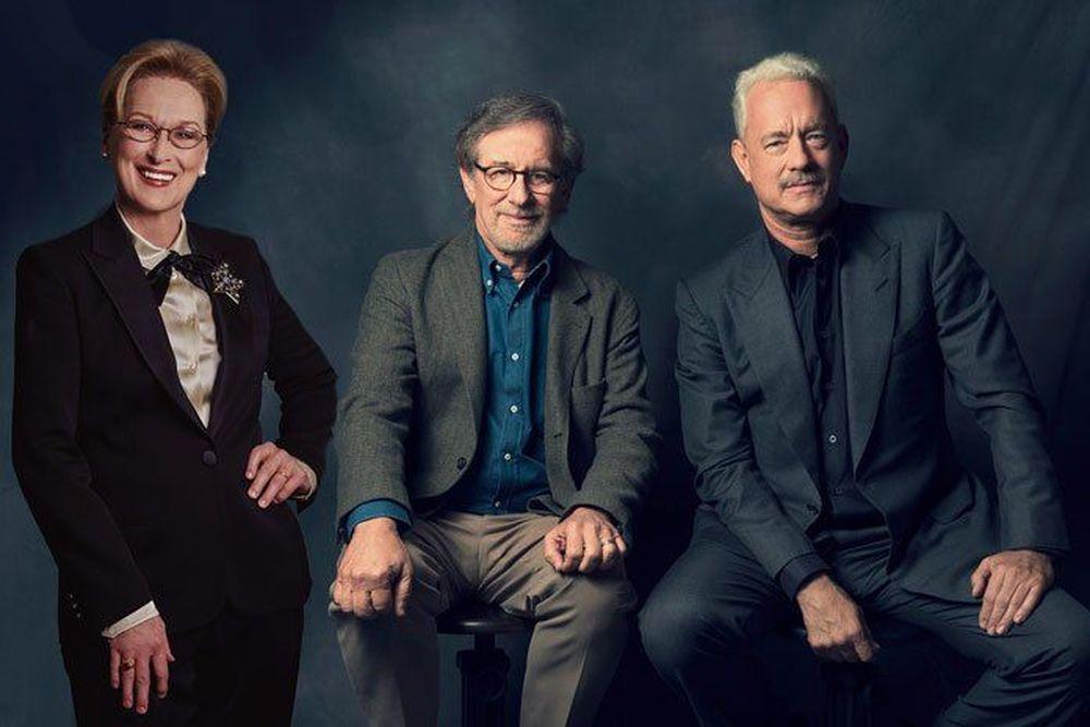 Τομ Χανκς - Μέριλ Στριπ στη νέα ταινία του Σπίλμπεργκ για το σκάνδαλο με τους «Φακέλους του Πενταγώνου»