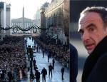 Συντετριμμένος στην κηδεία του Χαλιντέι ο Νίκος Αλιάγας - ξέσπασε σε δάκρυα
