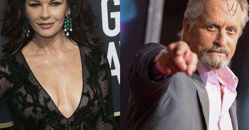 Ο Μάικλ Ντάγκλας και η Κάθριν Ζέτα-Τζόουνς στηρίζουν το «#Me Too»