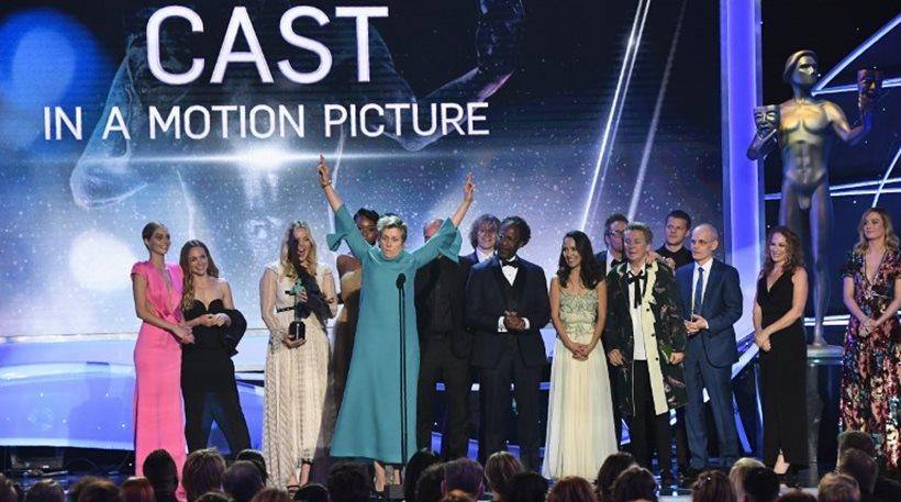 «Σάρωσε» τα βραβεία των ηθοποιών το «Τρεις πινακίδες έξω από το Έμπινγκ στο Μιζούρι»