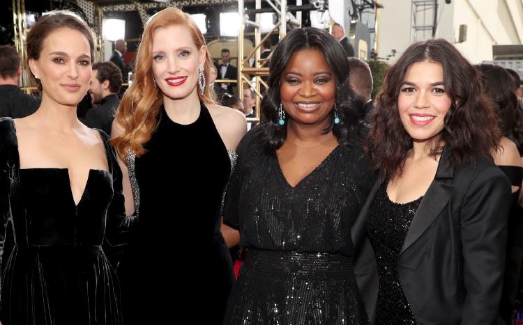 Διάσημες γυναίκες εξηγούν γιατί έβαλαν μαύρα στις Χρυσές Σφαίρες
