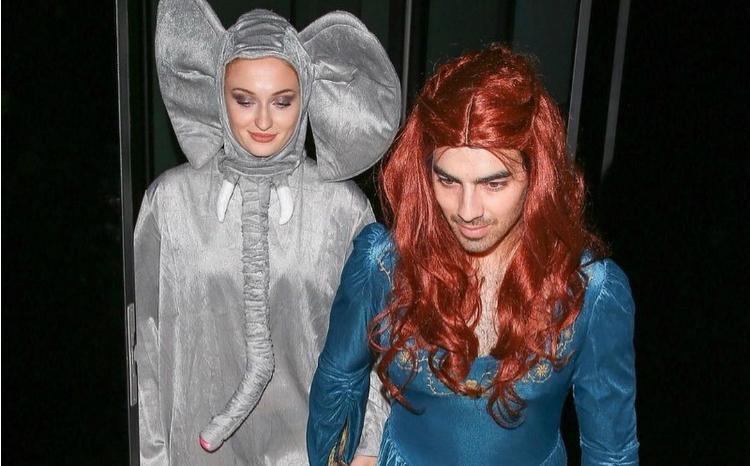 O Joe Jonas... μεταμορφώθηκε σε Sansa Stark