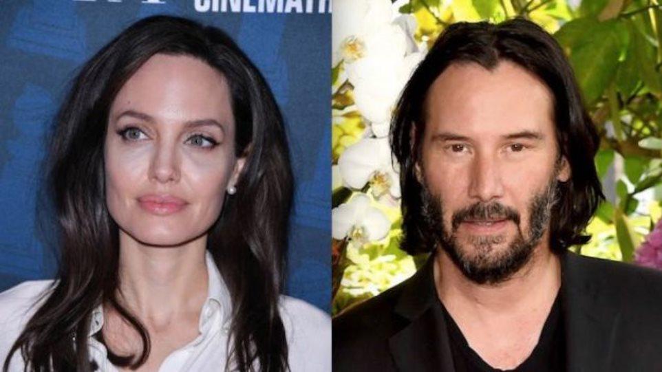 H Αngelina Jolie ζευγάρι με τον Keanu Reeves;