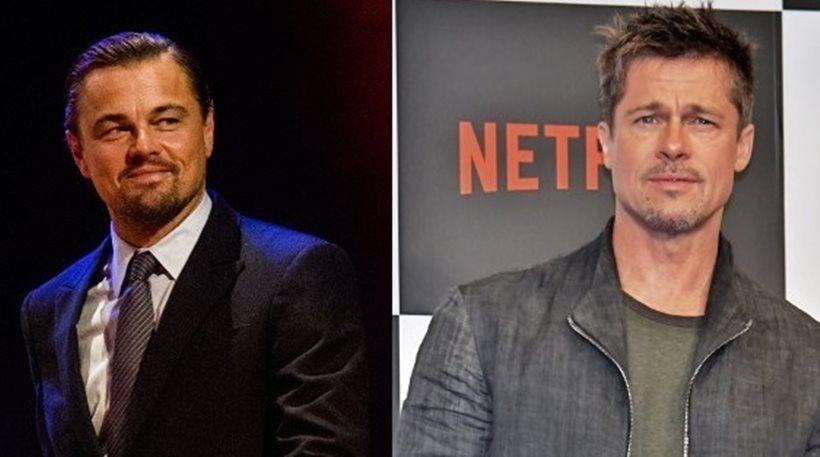 Μπραντ Πιτ – Λεονάρντο Ντι Κάπριο μαζί στη νέα ταινία του Ταραντίνο