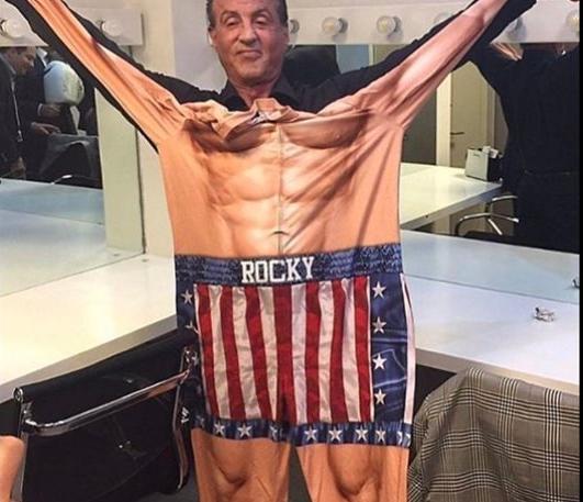 Στα 71 του ο Σταλόνε γυμνάζεται τόσο σκληρά σαν να είναι έτοιμος για το Rocky!