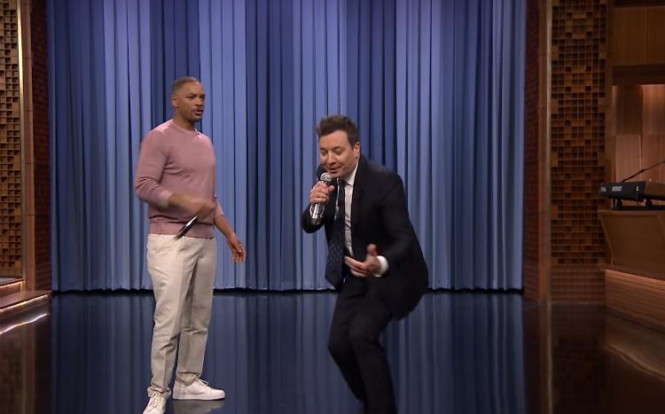 Will Smith και Jimmy Fallon τραγουδούν μαζί